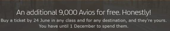 Iberia 9000 Avios Promo